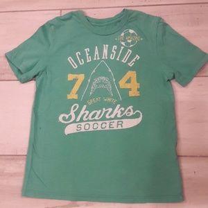 🦈⚽️Oceanside sharks soccer t shirt